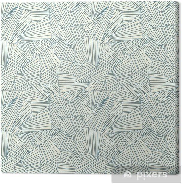 lattice pattern Canvas Print - Styles