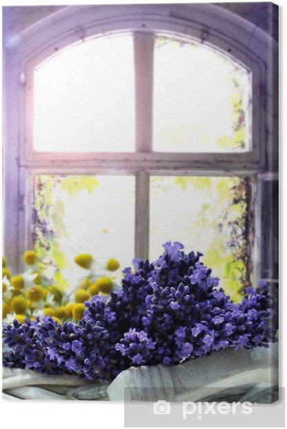 Lavendel Canvas Print - Herbs