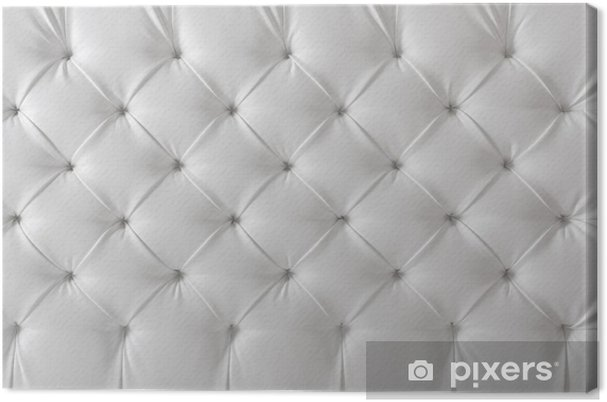 Leather Upholstery White Sofa Texture Pattern Background Canvas