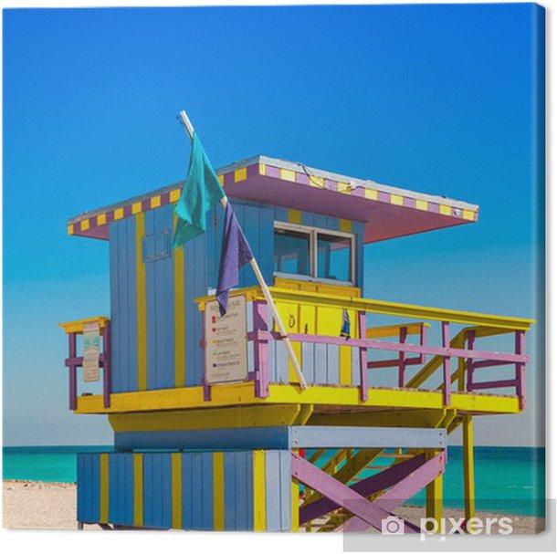 Tower House Miami Beach: Lifeguard Tower In South Beach, Miami Beach, Florida