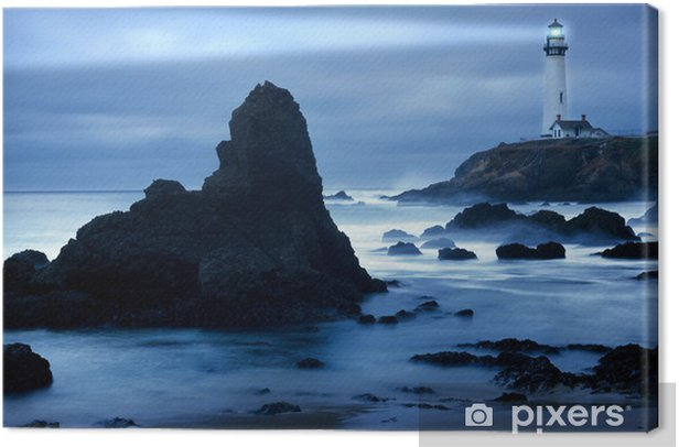 Lighthouse Canvas Print - Lighthouse