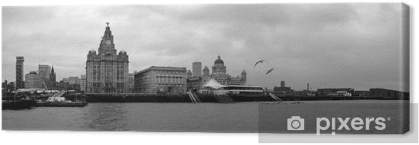 liverpool waterfront Canvas Print - Heavy Industry