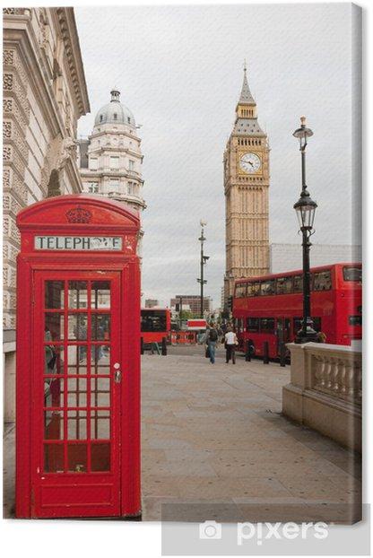 London, England Canvas Print - Themes