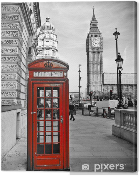 London impression Canvas Print -