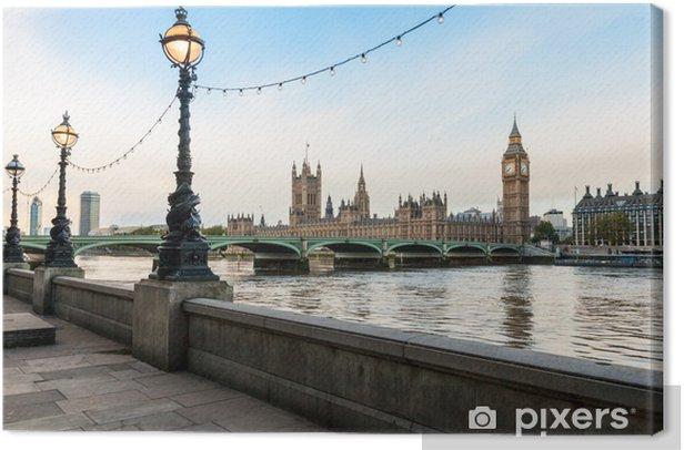 London morning cityscape Canvas Print - Themes