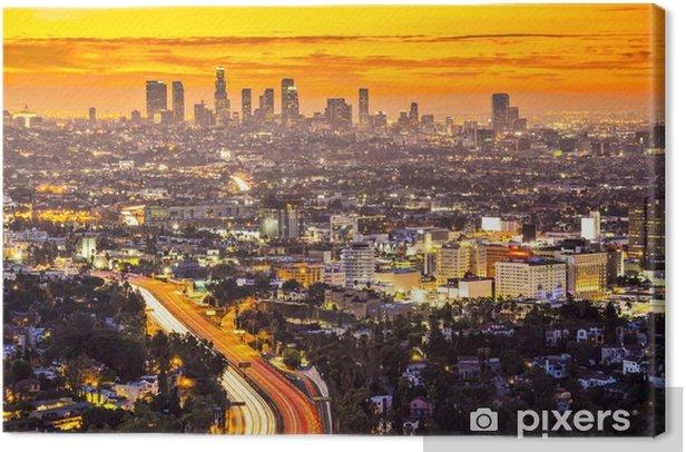 Los Angeles Canvas Print - Themes