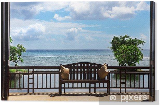 Luxury five star hotel Canvas Print -