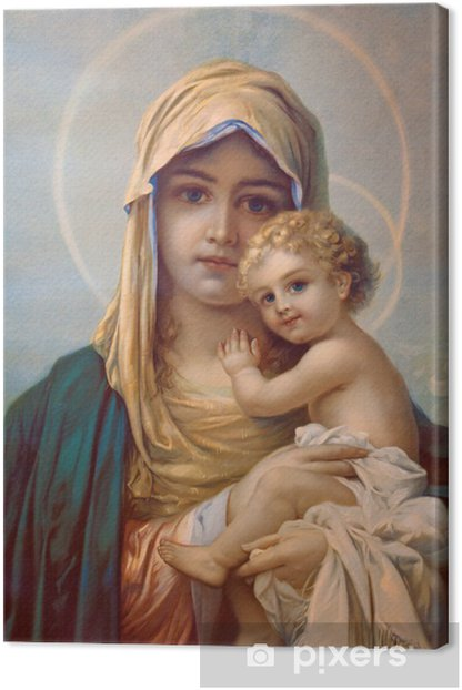 Madonna - Mother of God Canvas Print - Themes