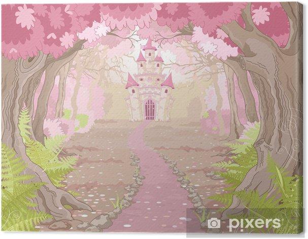 Magic Castle Landscape Canvas Print - Pupil