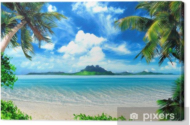 magical coast Canvas Print - Themes