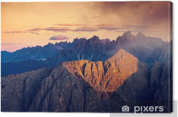 magical mountain landscape Canvas Print - Europe