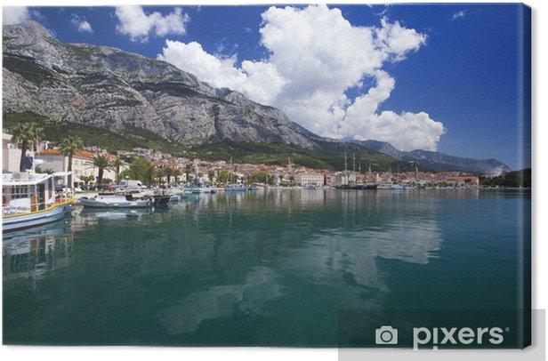 Makarska city Canvas Print - Themes