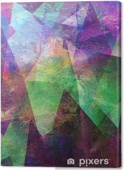 malerei graphik abstrakt Canvas Print - States of Mind