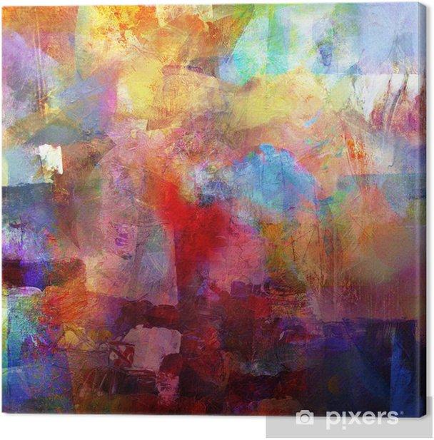 malerei texturen Canvas Print - Hobbies and Leisure