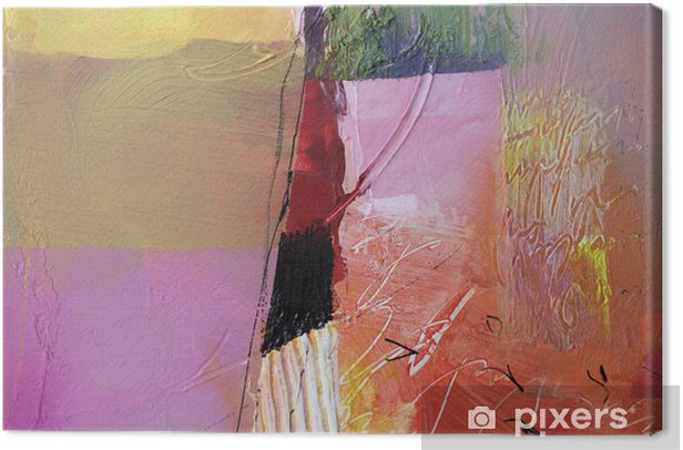 malerei texturen Canvas Print -