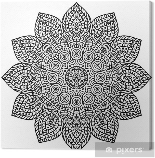 Mandala Canvas Print - Wall decals