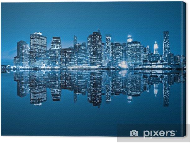 Manhattan, New York City. USA. Canvas Print -