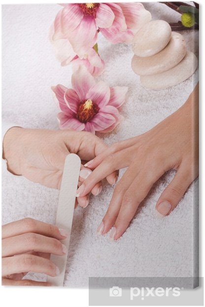 manicure Canvas Print - Destinations