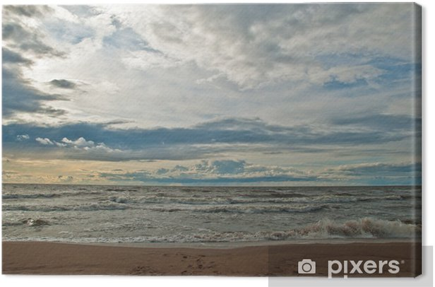 Mare Baltico Canvas Print - Water