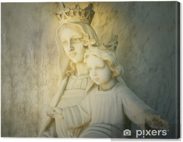 Mary and Jesus Canvas Print - Themes