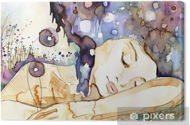 marzenia senne Canvas Print - Themes