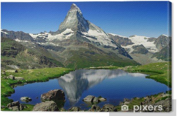 Matterhorn Canvas Print - iStaging