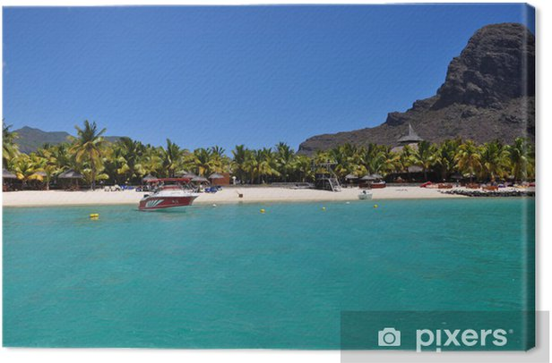 Mauritius Le Morne Canvas Print - Themes