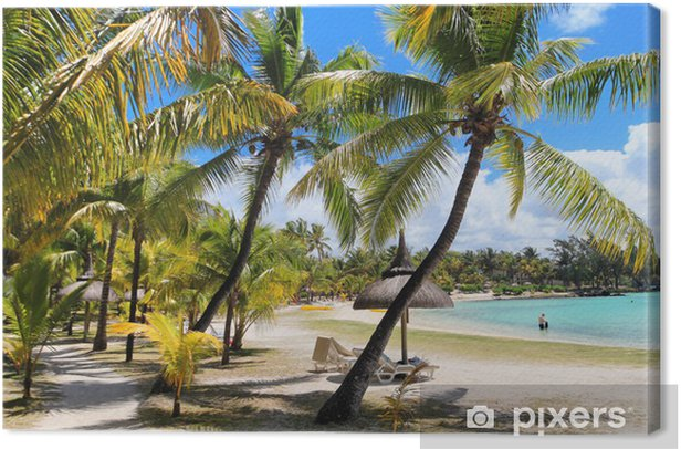 Mauritius Canvas Print - Holidays
