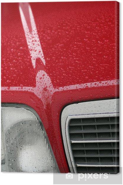 MB W124 hoch Canvas Print - Themes