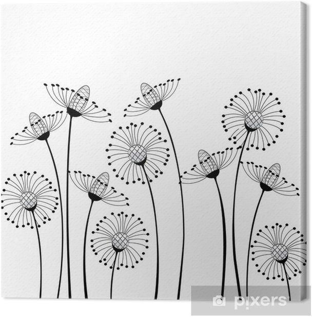 meadow flowers Canvas Print - Science & Nature