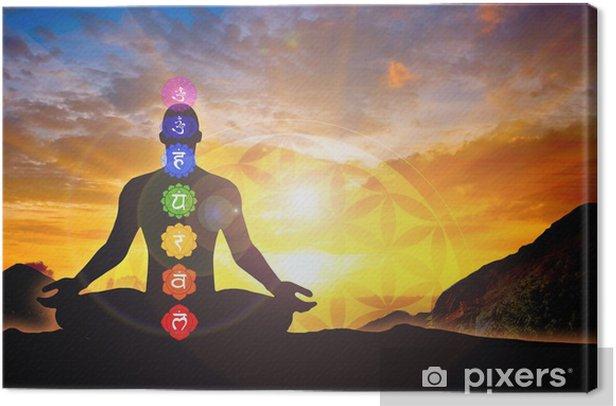 Meditation time Canvas Print - Health