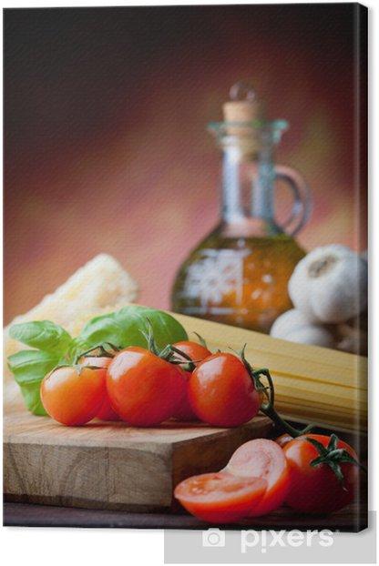 Mediterranean Cuisine Canvas Print - Themes