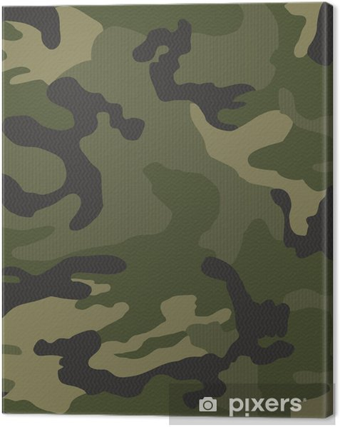 Micro pattern camouflage seamless Canvas Print - Graphic Resources