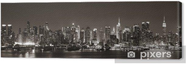 Midtown Manhattan skyline Canvas Print -