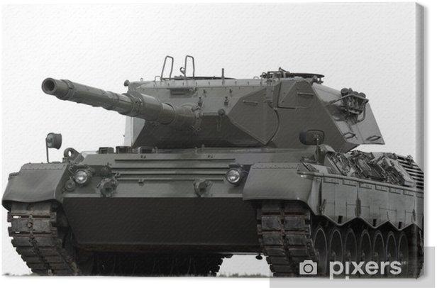 Military Tank Canvas Print - Themes