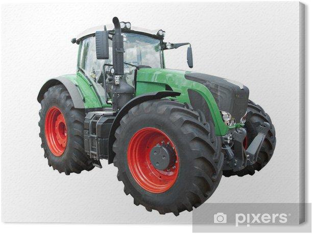 Moderner Traktor Canvas Print - Agriculture