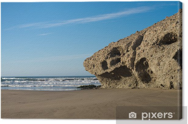 Monsul beach at Cabo de Gata Canvas Print - Europe