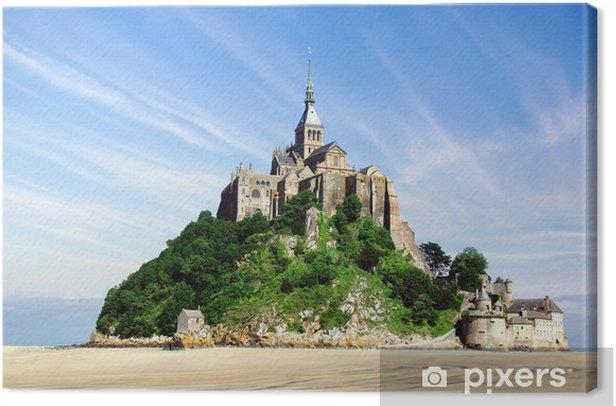 Mont Saint Michel Canvas Print - Monuments
