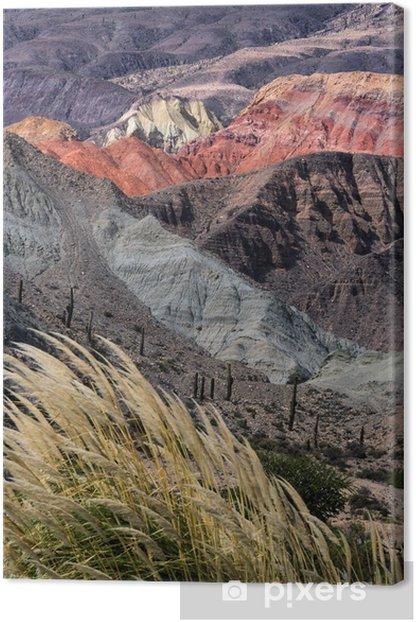 Montañas en Salta, Argentina Canvas Print - Landscapes
