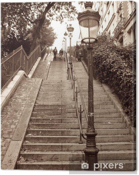Montmartre, Paris Canvas Print -