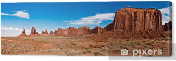 Monument Valley 02 Canvas Print - America
