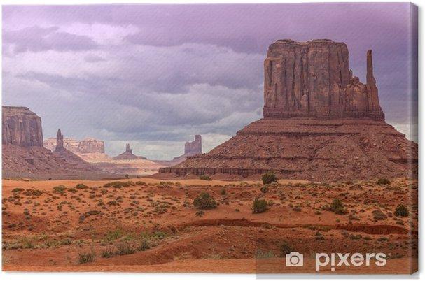 Monument Valley Landscape Canvas Print - Travel