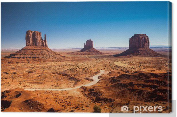 Monument Valley, USA Canvas Print - Desert