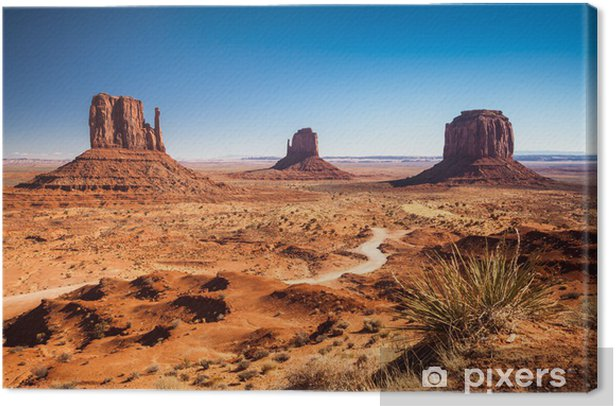 Monument Valley, USA Canvas Print - Desert