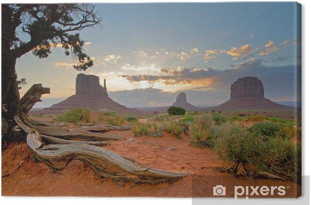 Monument Valley, Utah, USA Canvas Print - Themes