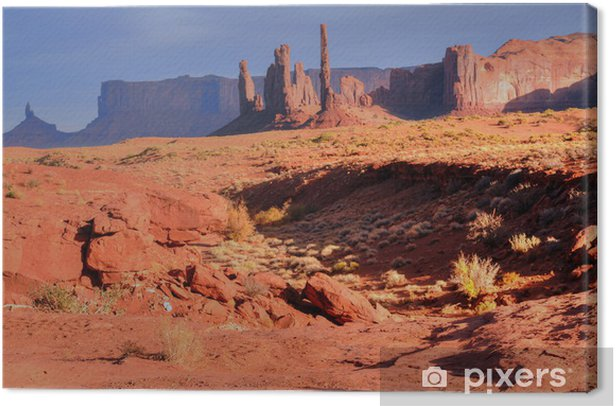 Monument Valley Canvas Print - Nature and Wilderness