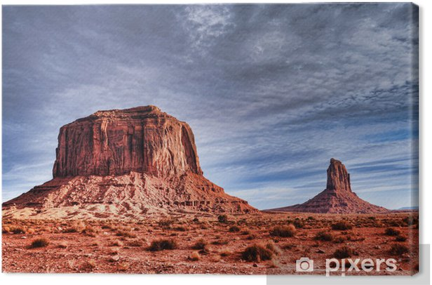 Monument Valley Canvas Print - Other