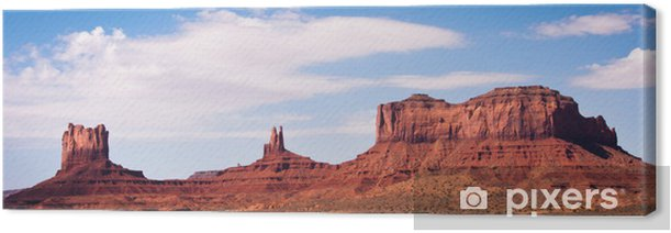 Monument Valley Canvas Print - America