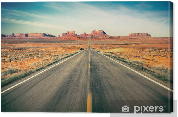 Monument Valley Canvas Print -
