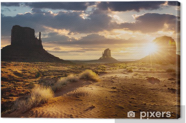 Monument Valley Canvas Print - America